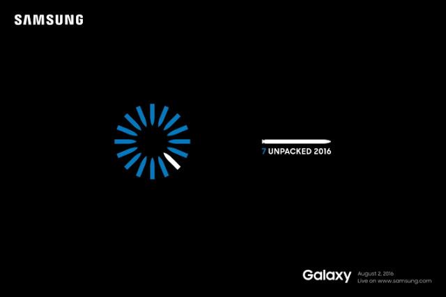 Resmi, Samsung Galaxy Note 7 akan memulai debutnya tanggal 2 Agustus