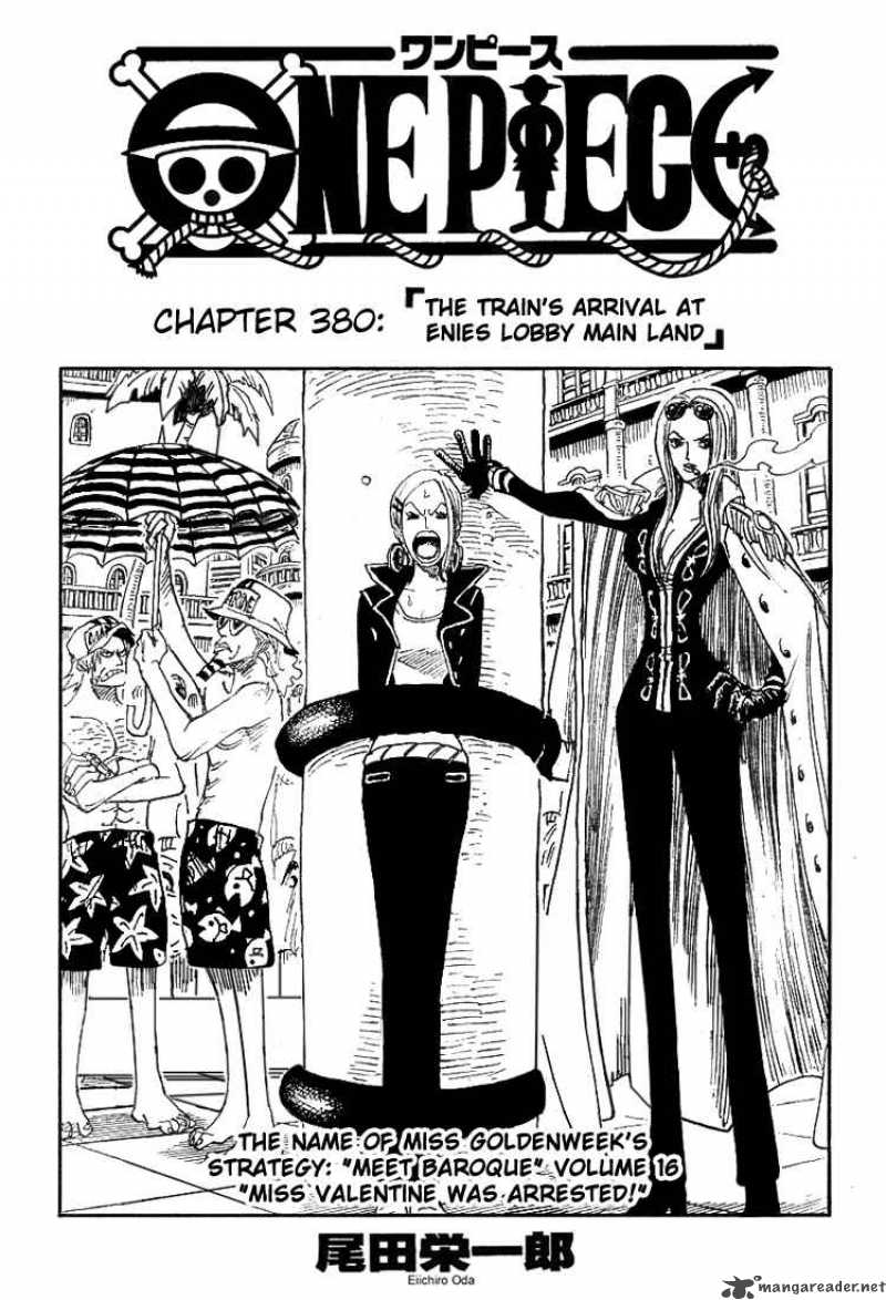 One Piece Ch 380