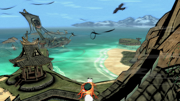 OKAMI HD PC Game Free Download Screenshot 1