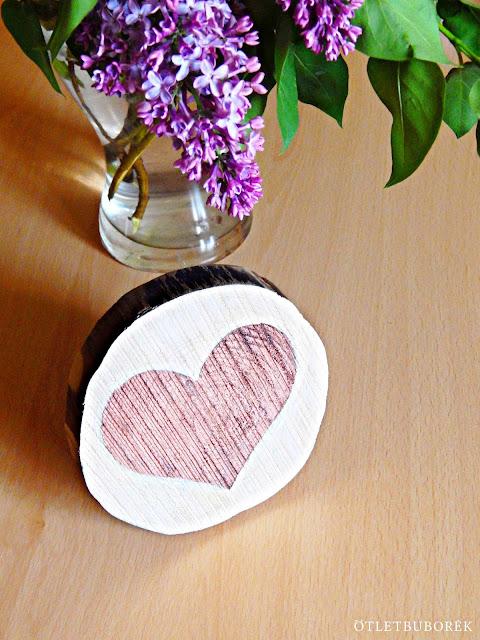 Csináld magad | Dekoráció faszeletből Anyák napjára - DIY | Wood slice decoration for Mother's Day