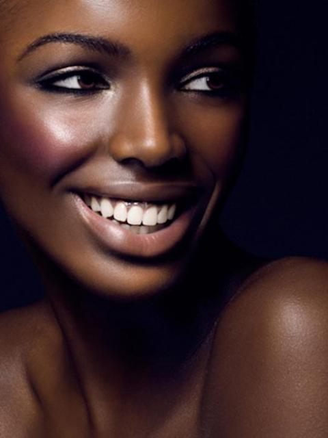 Beauty Darkskin Makeup Portrait Darkskin Blackwomen: Ghana Rising: Fashion Transformation: Louisa Fever Rising…