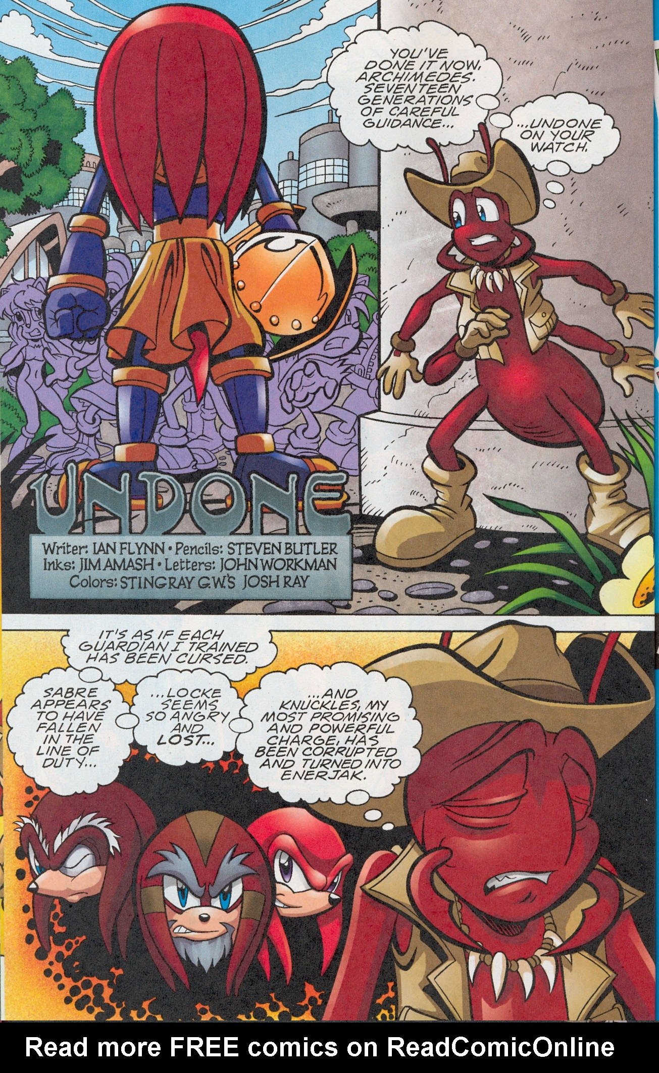 Read online Sonic The Hedgehog comic -  Issue #181 - 19