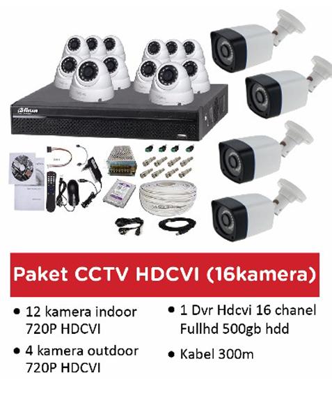 Pasang CCTV Murah 16 Camera kunjungi jasa-online-web-id