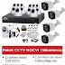 Paket CCTV HDCVI (16 Kamera 720P HDCVI)