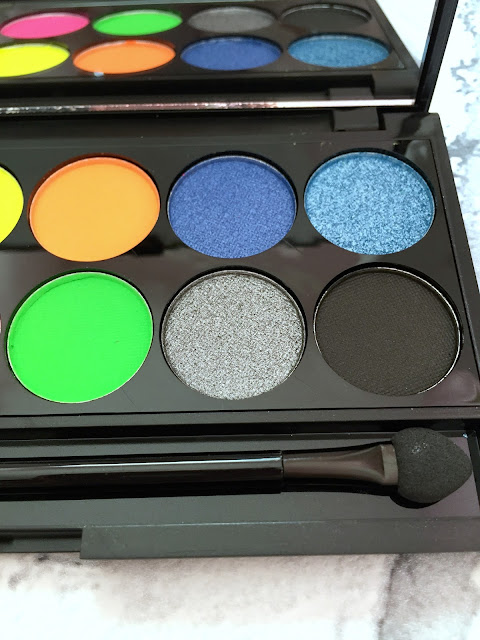 Sleek Acid Palette