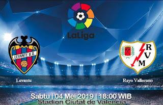 Prediksi Levante vs Rayo Vallecano 4 Mei 2019