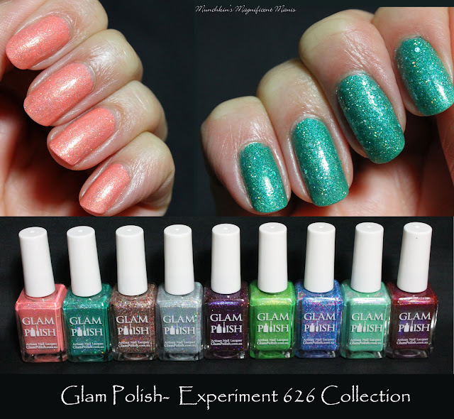 Glam Polish Experiment 626 Collection