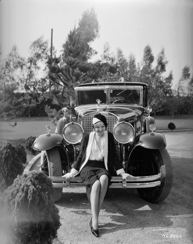 Classic Stars And Luxury Cars 24 Vintage Photos Of