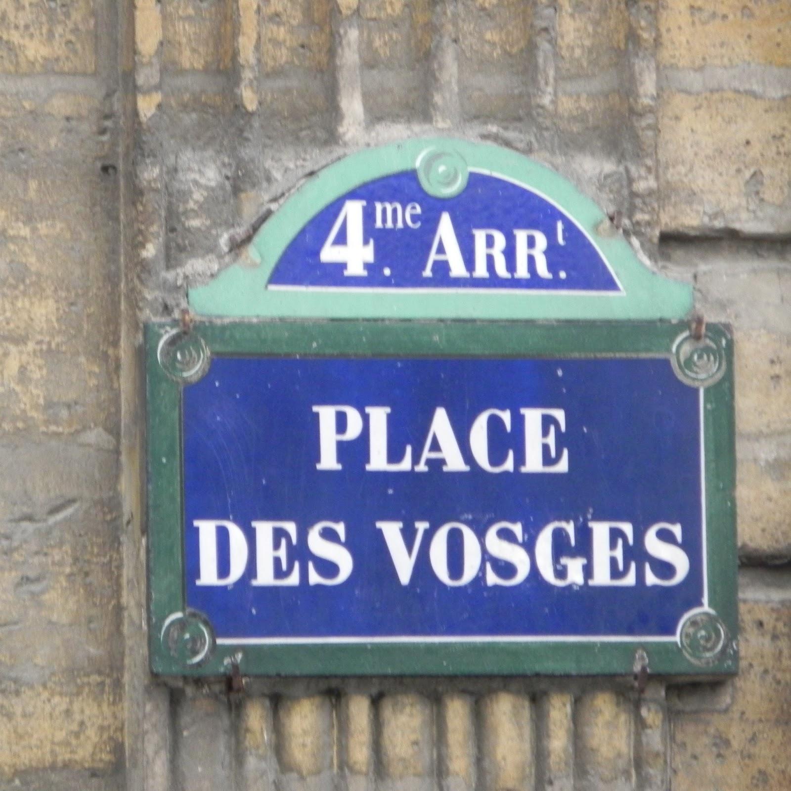 histoire place des vosges paris
