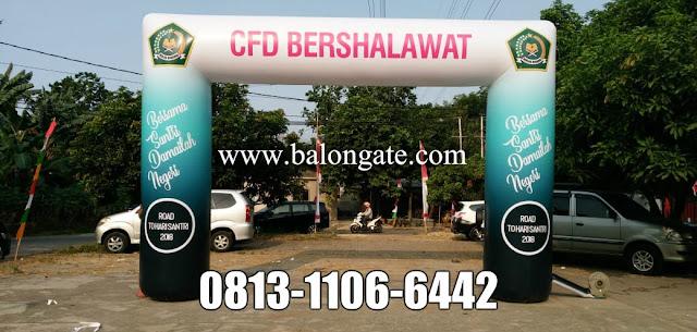 Sewa Balon Gate CFD Bershalawat Jakarta