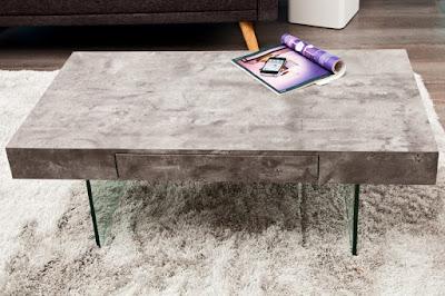 interiérový nábytok Reaction, nábytok so sklom, šedý nábytok