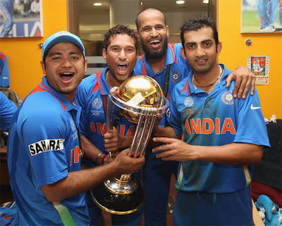 Indian Team Celebrations