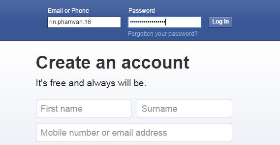 Www facebook login sign in