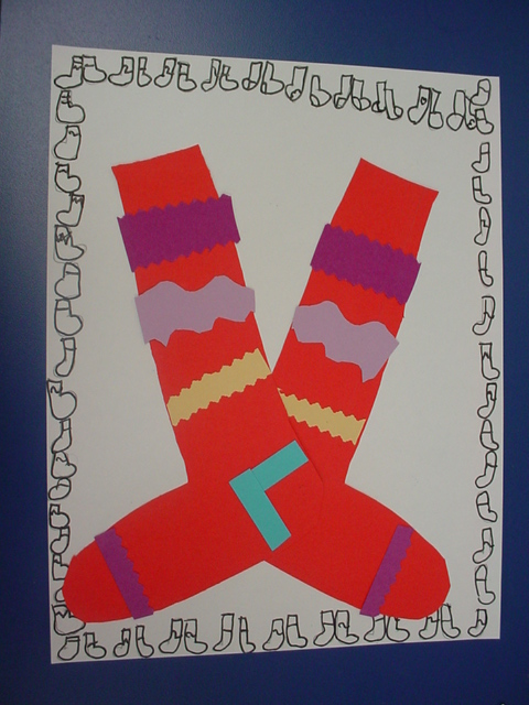 Mrs Knight S Smartest Artists A Pair Of Socks 1st Grade