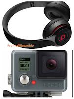 Logo Scatta e vinci gratis GoPro Hero e Cuffie Beats by Dr.Dree