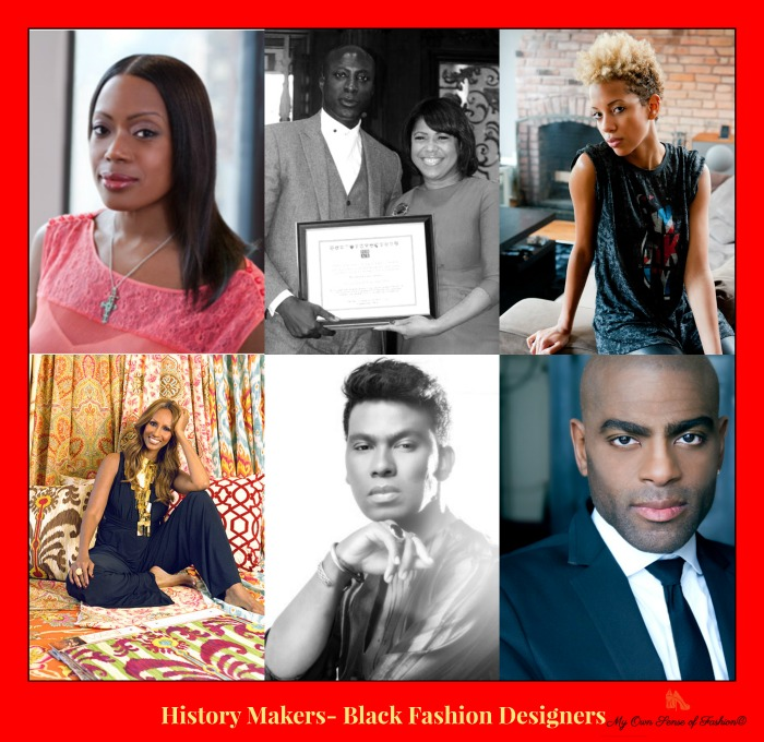 History Makers Black Fashion Designers