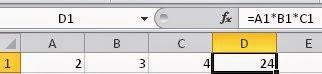 Como fazer multiplicação (produto) no Excel - Apostila, Planilhas e Tutoriais