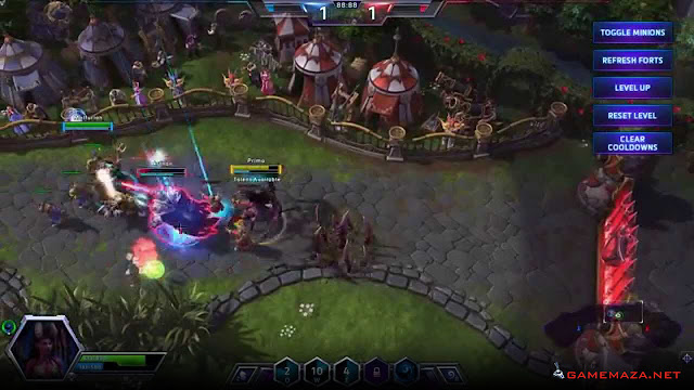 Heroes Of the Storm Alpha Gameplay Screenshot 3