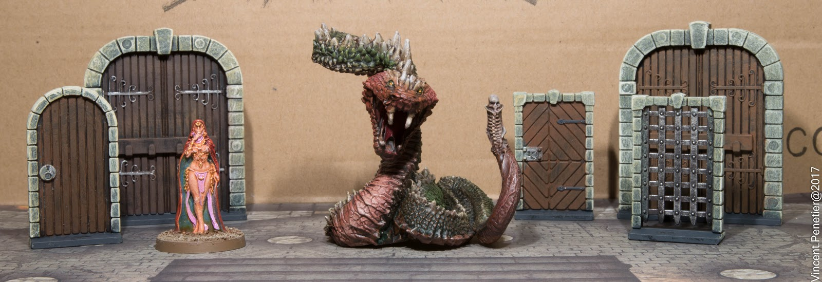 V1nce webplace pom d fi peinture avec conan en avant - Peinture effet serpent ...
