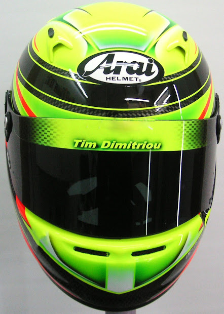 Arai Helmet Design Karting #190 Hand Painted Helmets