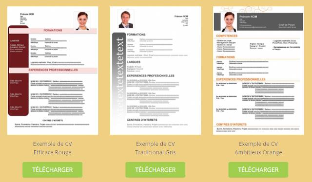 أفضل وأقوى النمادج لإنشاء سيرتك الذاتية (CV) مجانا والبحث عن وظيفة مناسبة !