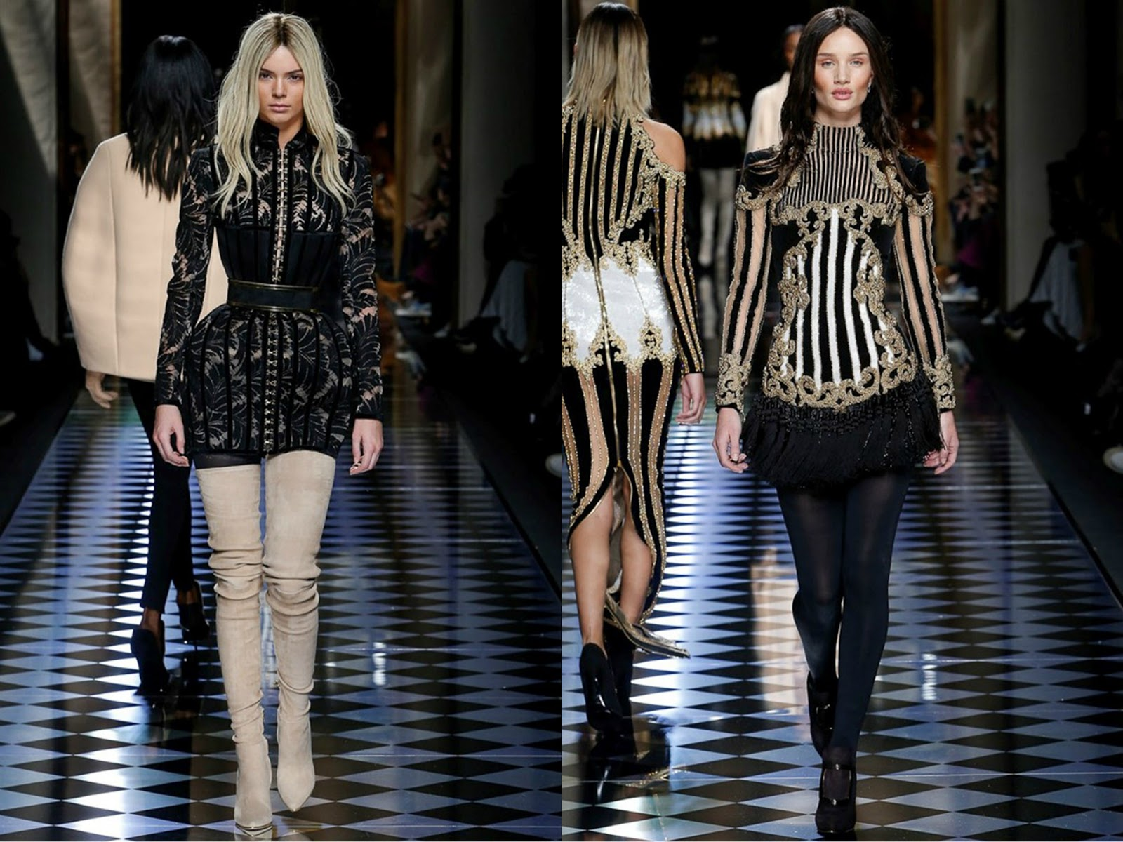 Eniwhere Fashion - PFW - FW2016 - Balmain