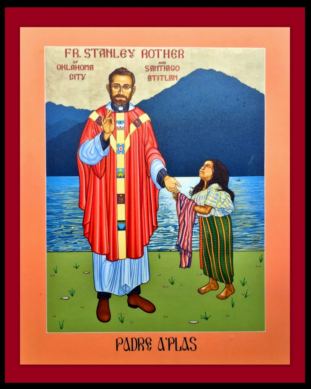 Brother David Blessed Stanley Rother Martyr