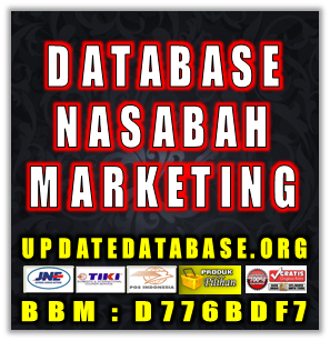 Jual Database Nasabah Prioritas Marketing