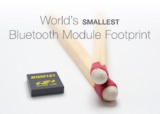 Самый маленький Bluetooth модуль для IoT