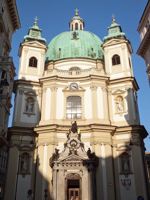 Vienne Wien gratuit innere stadt peterskirche église orgue concert baroque