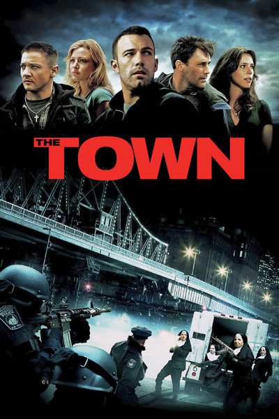 The Town 2010 Dual Audio HDRip 480p ESub x264