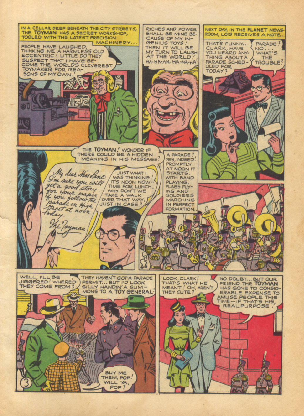 Read online Action Comics (1938) comic -  Issue #64 - 5
