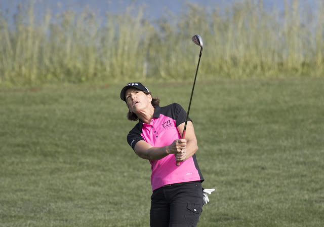 Juli Inkster holds a US Womens Open scoring record