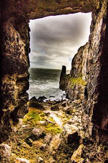 St Govans Chapel Pembrokeshire Coastal Path Wales