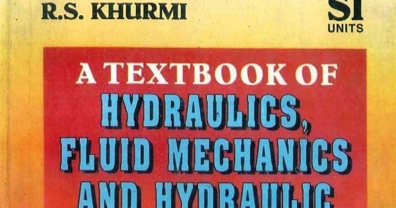 SOLUTION MANUAL OF HYDRAULICS, FLUID MECHANICS AND HYDRAULIC