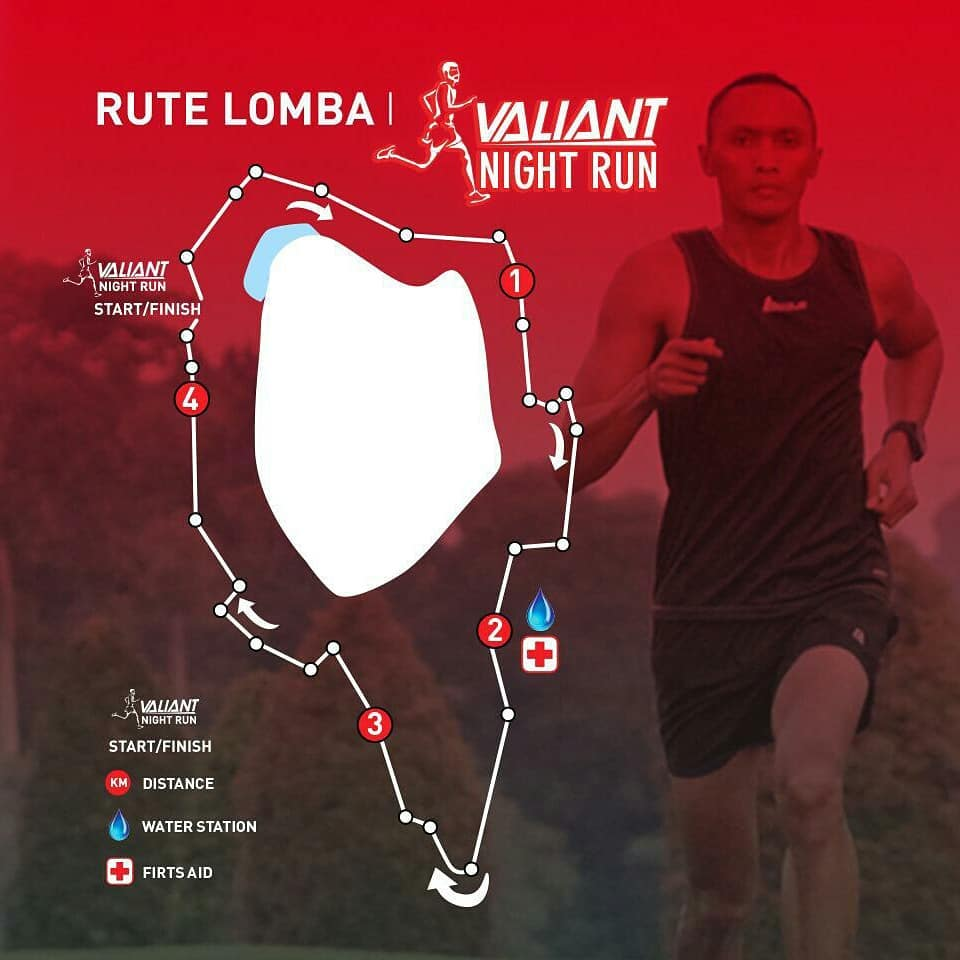 League Valiant Night Run • 2019