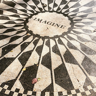 John Lennon Imagine Memorial in Central Park