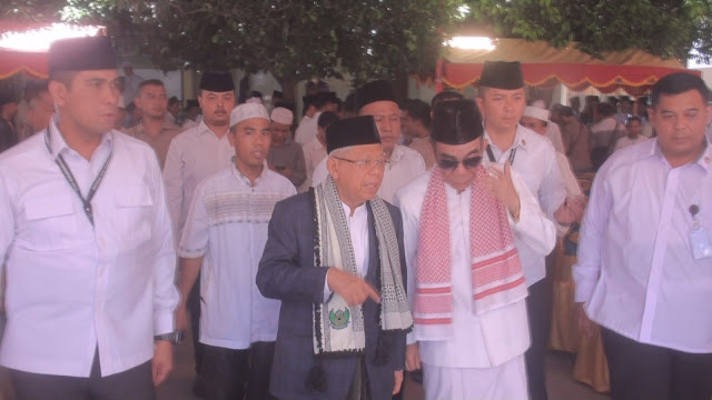 Ma'ruf Amin: Khilafah Tak akan Laku, RI Punya Pancasila dan UUD 1945