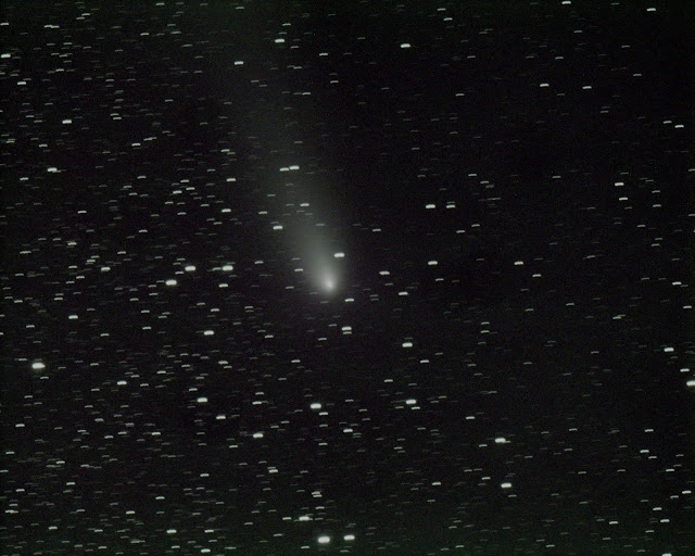 Comet  21P/Giacobini-Zinner Imaged by Muir Evenden tracking the comet on ATEO-2.