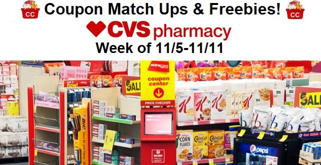 93023efd6d4 CVS Couponers: CVS Coupon Match Ups & Freebies (11/5-11/11)