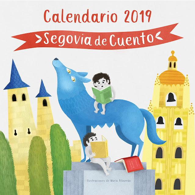 Segovia de Cuento - Ilustraciones Maria Albarran