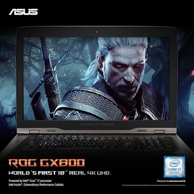 ASUS ROG GX800 Real 4K UHD