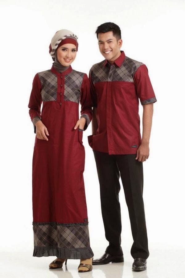 Baju Muslim Terbaru dan Terkini  Contoh Model Baju Muslim Modern Terbaru 8c252048b6