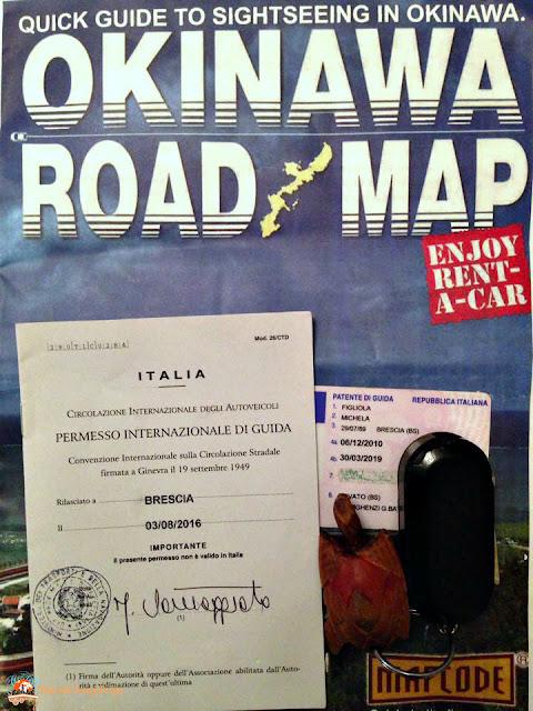 documenti guida giappone, patente internazionale, patente giappone, noleggio auto giappone, guidare in giappone, noleggio auto okinawa