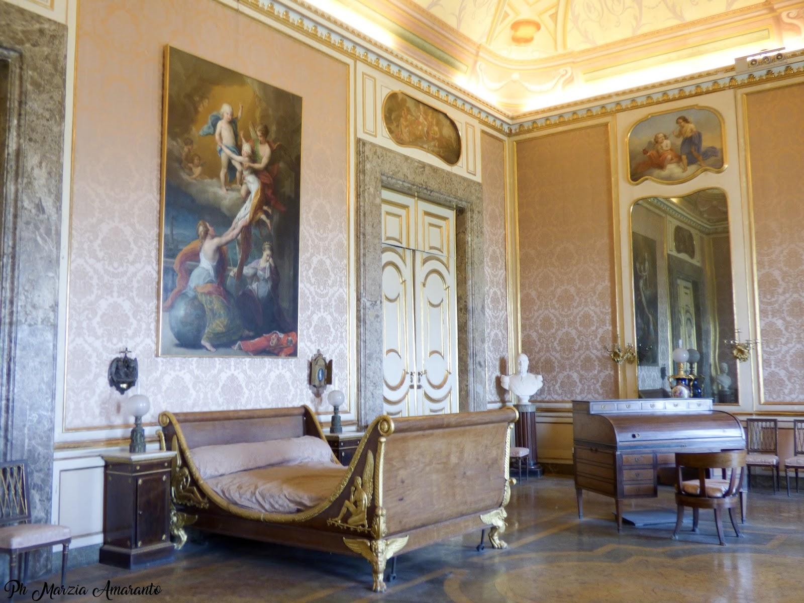 Camera da letto di Ferdinando II - Reggia Di Caserta