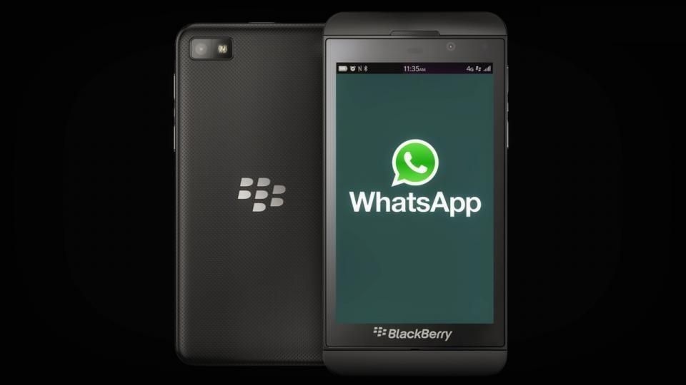 شركة WhatsApp توقف دعمها على منصة Blackberry 10 و BBOS