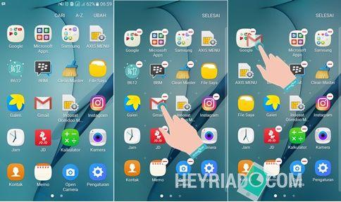 Cara Membuat Folder Aplikasi di Semua HP Samsung