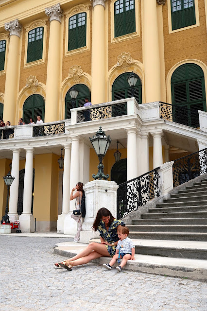 palacio schoenbrunn Viena a golpe de objetivo