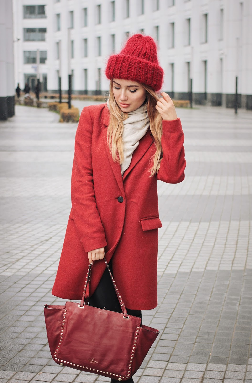 модные блоггеры осень зима 2016, уличная мода осень зима блоггеров, модные блоггеры зима 2016