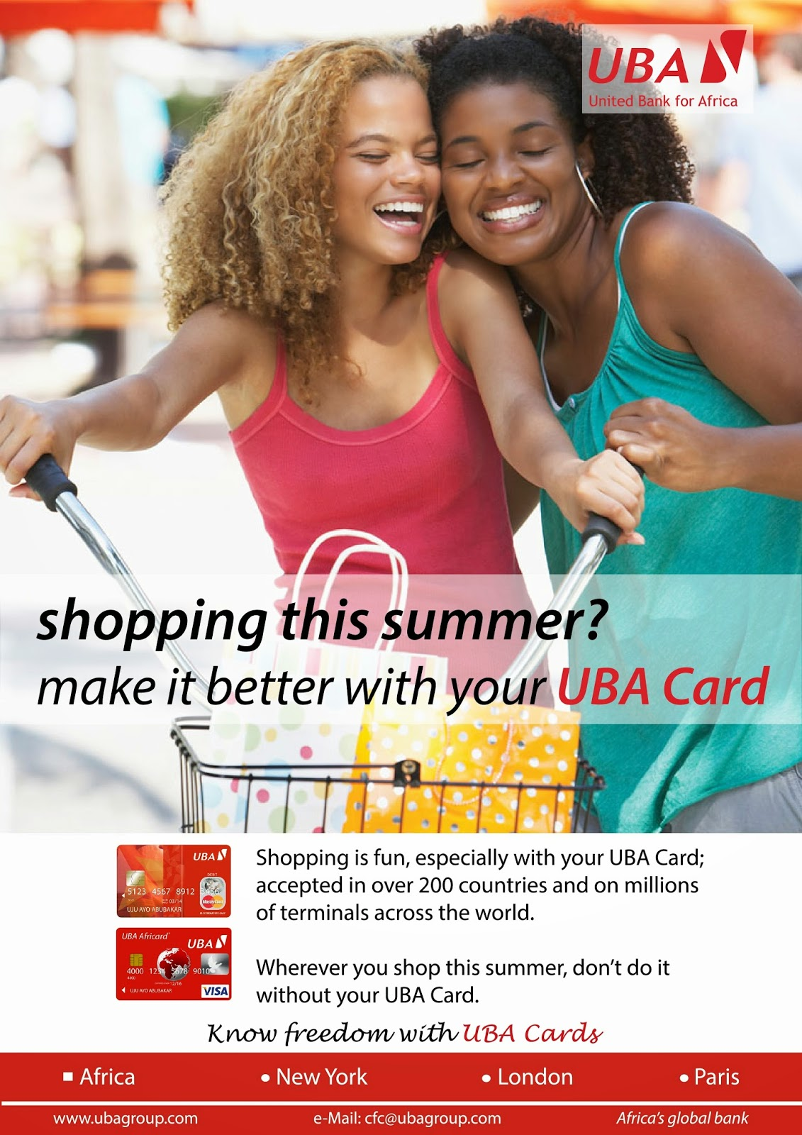 The Lion King - Blog Edition: UBA Cards now accepted on PayPal